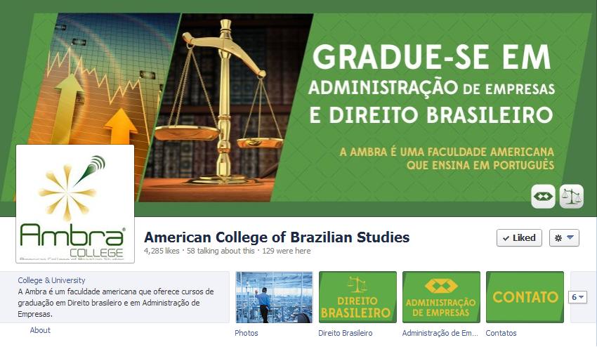 facebook ambra college
