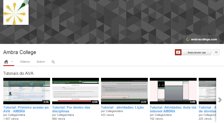 youtube ambra colllege