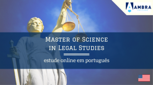 Mestrado em Ciências Jurídicas da Ambra University