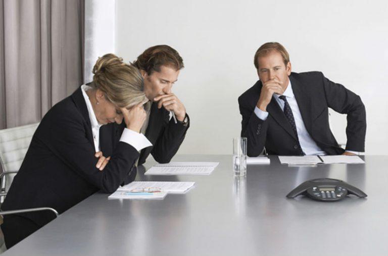 Como lidar com reuniões improdutivas?