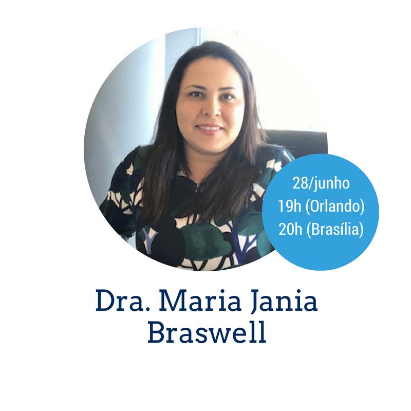 Palestra Dra. Jania Braswell