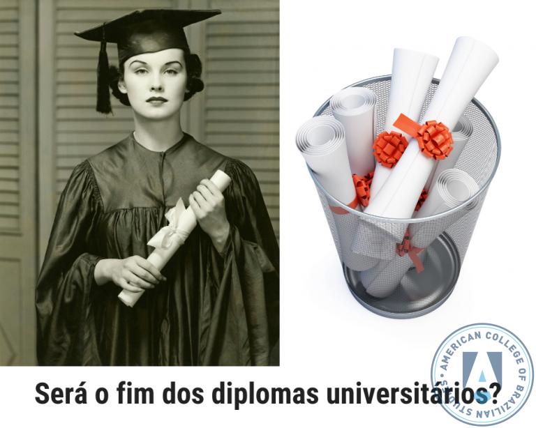 Será o fim dos diplomas universitários?