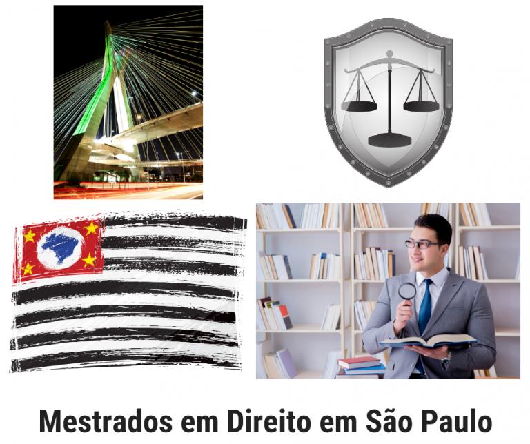 20 Programas de Mestrado em Direito em São Paulo