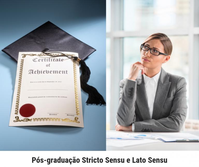 Pós-graduação Stricto Sensu e Lato Sensu