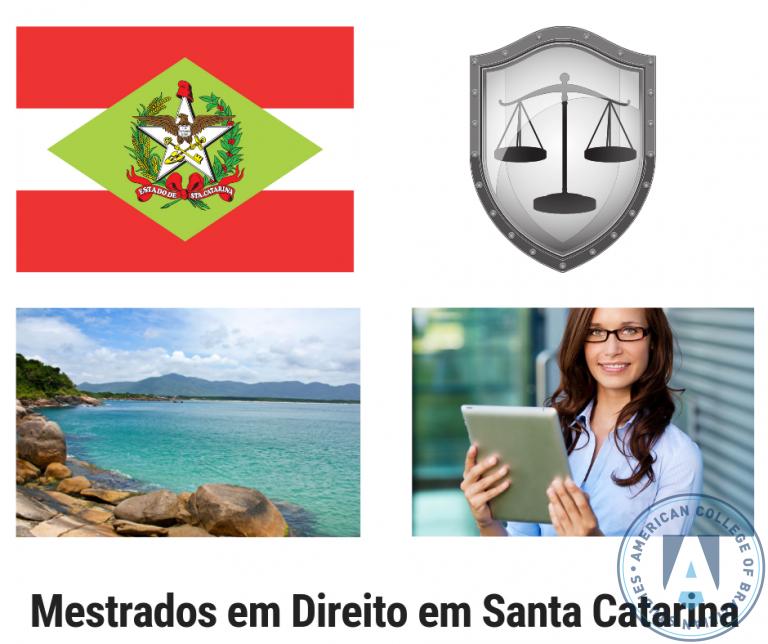 Conheça 5 Programas de Mestrado em Direito em Santa Catarina
