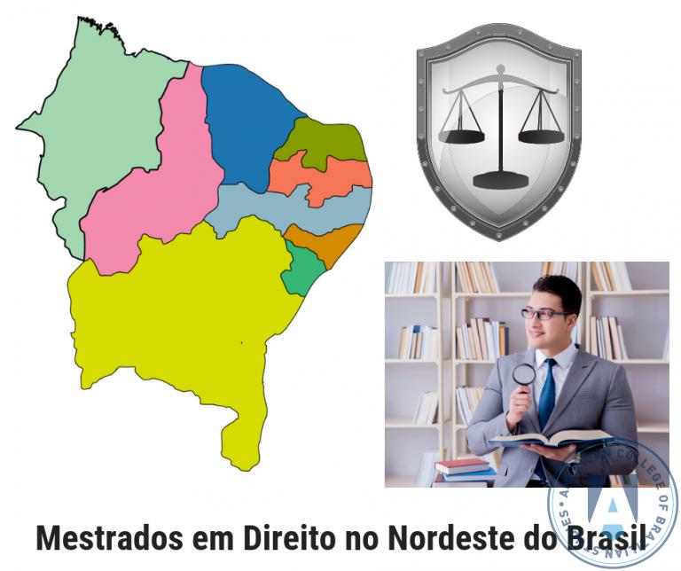 Lista de 16 Programas de Mestrado em Direito no Nordeste do Brasil