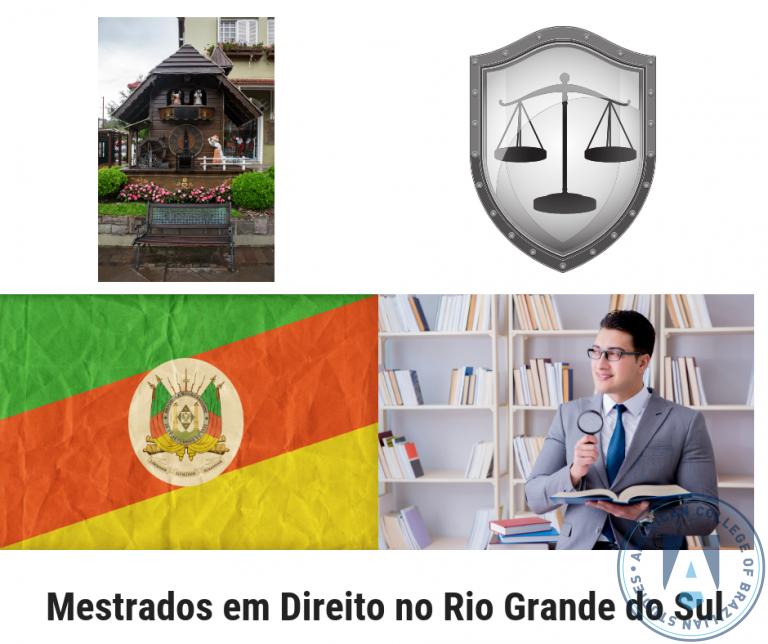 Lista de 15 Mestrados em Direito no Rio Grande do Sul