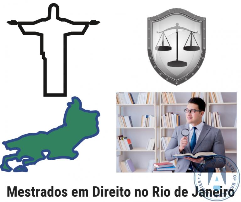 10 Programas de Mestrado em Direito no Rio de Janeiro – RJ