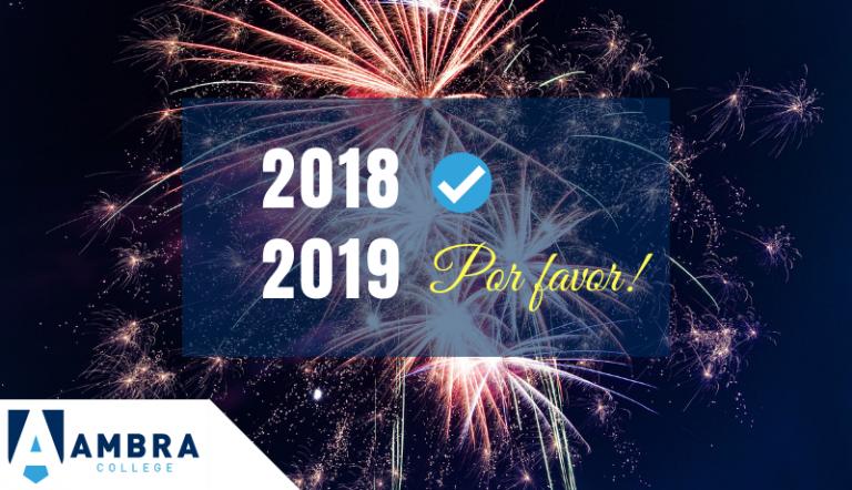Muito Obrigado 2018! Que Venha 2019!