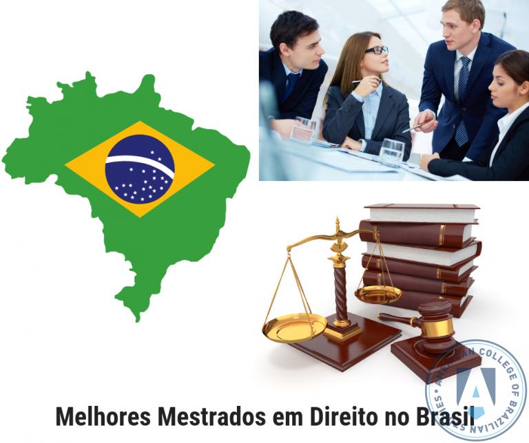 Melhores Mestrados Profissionais em Direito Ofertados no Brasil