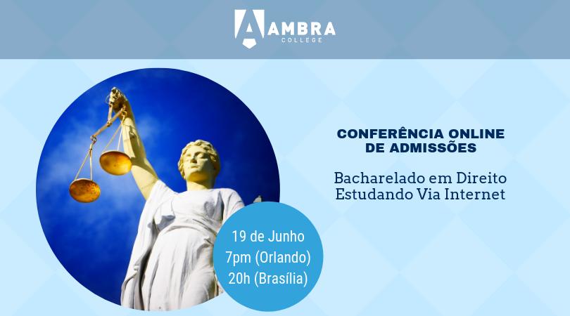 Conferência de Admissões do Bacharelado em Direito