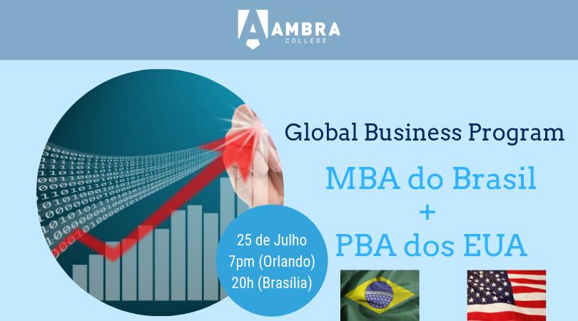 Conferência de Admissões do Global Business Program