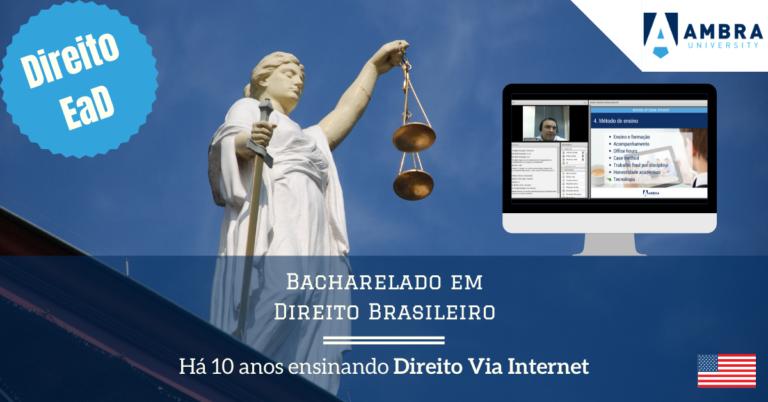 Série 10 anos de Direito EAD #01: É possível ensinar/aprender direito a distância?